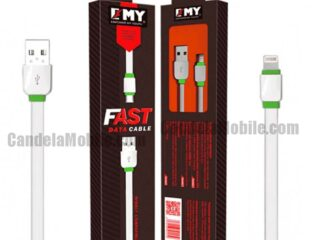 EMY iPhone Data Cable Fast Charging USB Cable