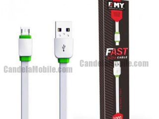 EMY MY-445 Micro Data Cable Fast Charging USB Cable