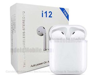 i12 TWS Airpods For Android & iPhone Wireless Headset