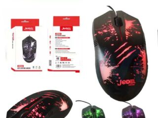 Jedel GM850 USB Wired LED Lightning Optical Mouse