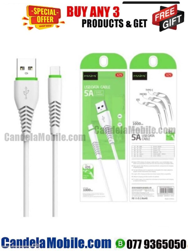 MAiMi Micro Data Cable Fast Charging USB Cable-X29