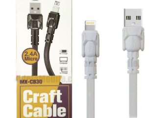 Moxom iPhone Data Cable Fast Charging lightning Craft Cable-CB30