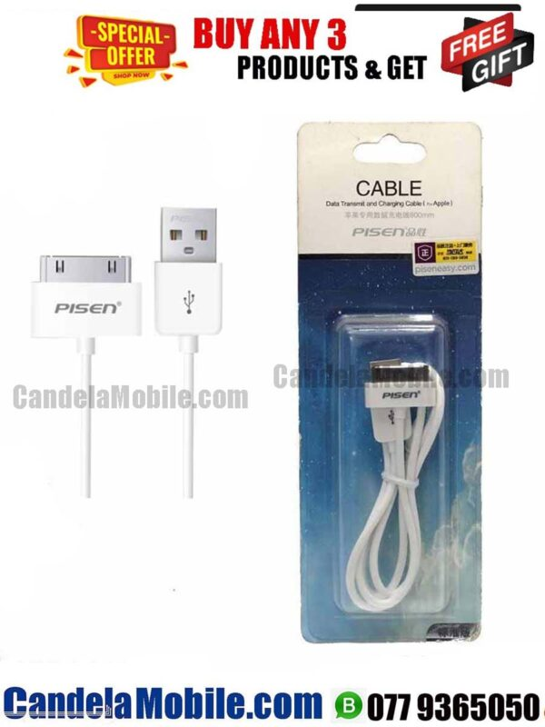 PISEN iPhone 4S /4G Data Cable Fast Charging Cable