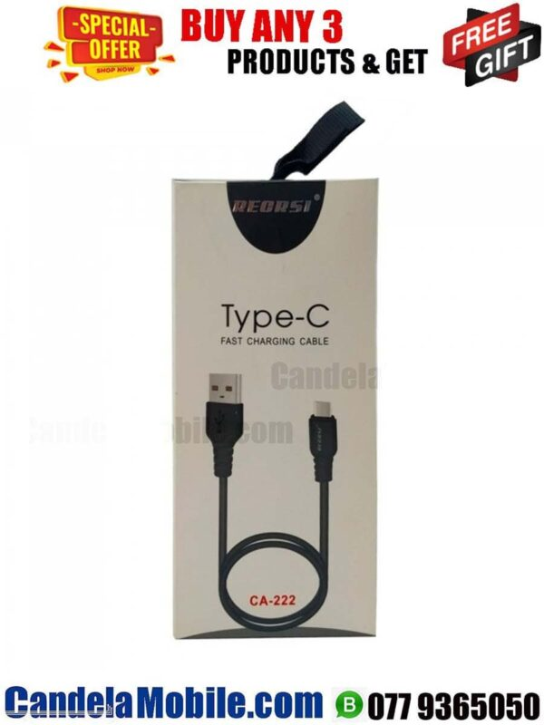 RECRSI Type-C Data Cable Fast Charging USB Cable