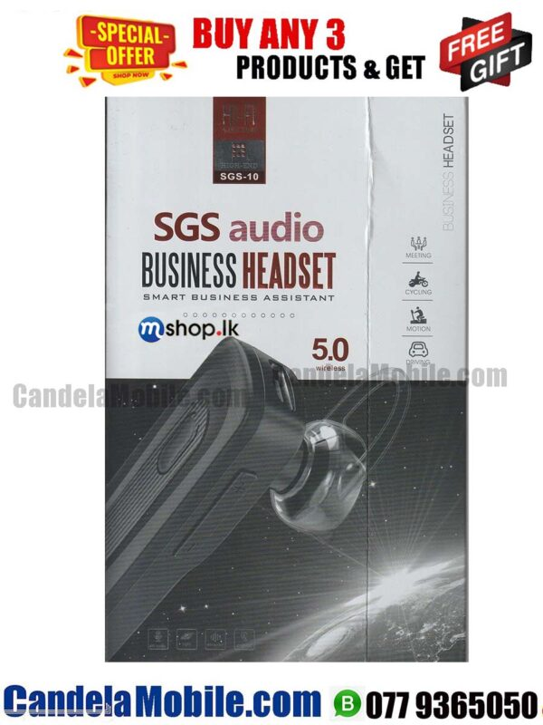 SGS-10 Bluetooth Wireless Headset for Best Price