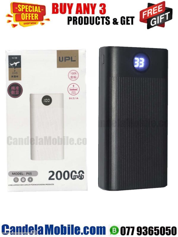 UPL P6S 20000MAh Power Bank For Mobile Phones