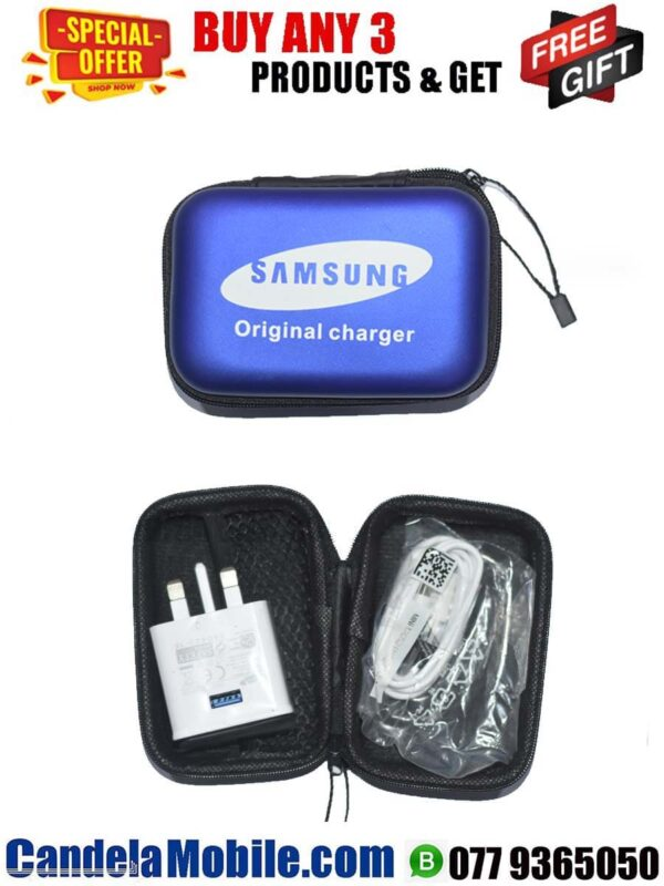 2.0 Micro USB Travel Phone Charger with Pouch