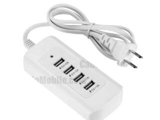 4in1 4 USB Charging Ports Fast Charger Adapter-1M