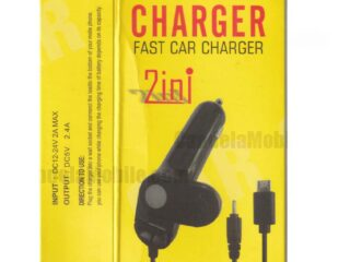 2in1 USB Vehicle Phone Charger