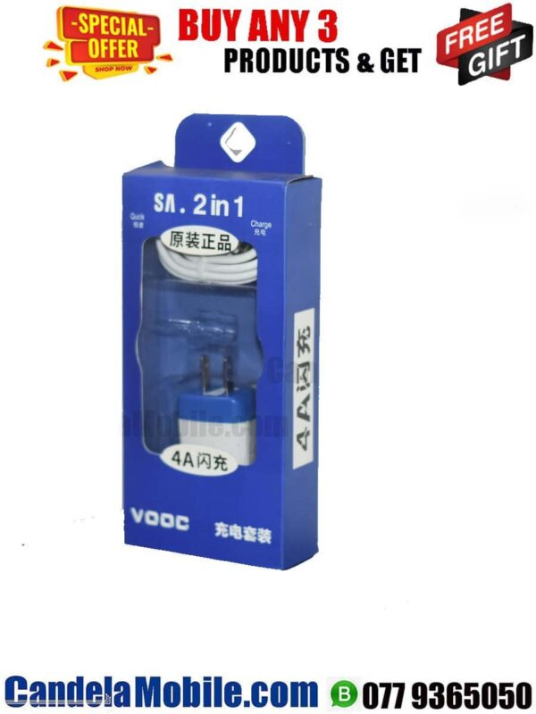 VOOC 2A Micro USB Travel Phone Charger