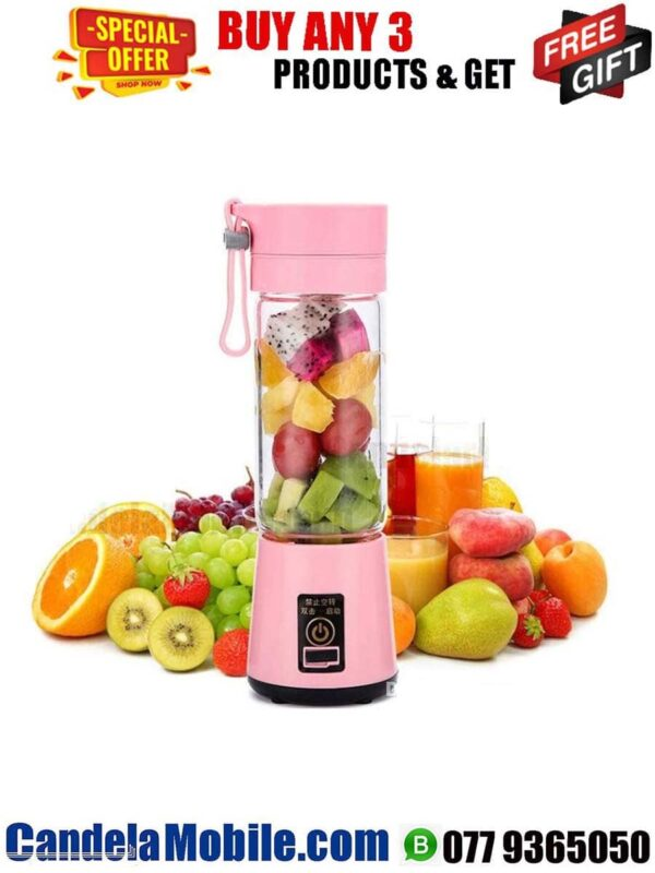 Rechargeable and Portable Juice Blender