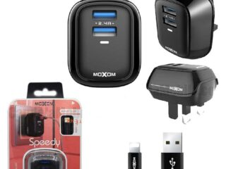 MOXOM 2.4A iPhone Fast Charger-KH-71