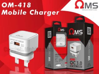 OMS- 418 3-Pin 3A Type-C Fast Charger