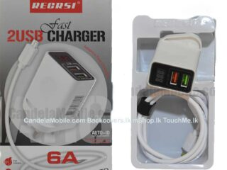 Recrsi 6A iPhone Fast Charger with Current Meter