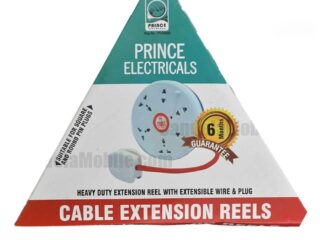 5M Heavy Duty Extension Reel with Extensible Wire & Plug