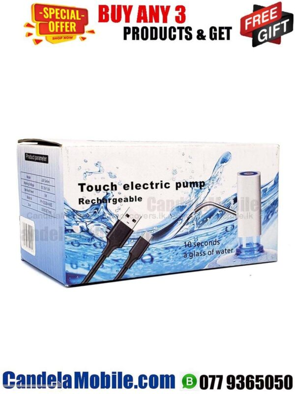 Rechargeable Touch Electric water Pump